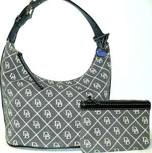 Nice DOONEY & BOURKE Signature Bucket Bag & Wallet